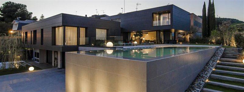 Neymar and messi houses in barcelona eliore properties - Casa de messi en castelldefels ...